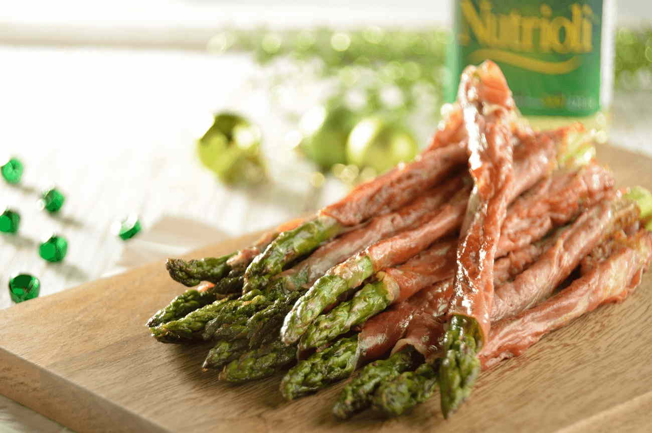 Asparagus Wrapped in Serrano Ham2