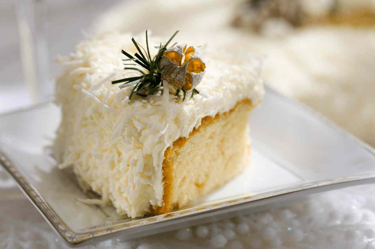 Coconut Walnut Cake