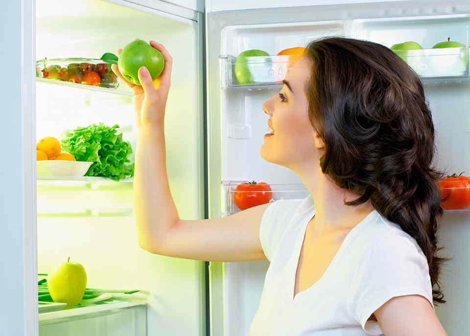 como almacenar correctamente las frutas y verduras