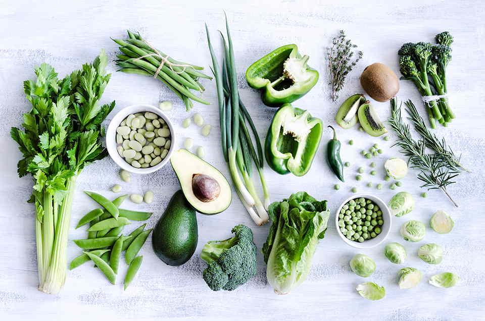 Pinta de verde tu alimentación