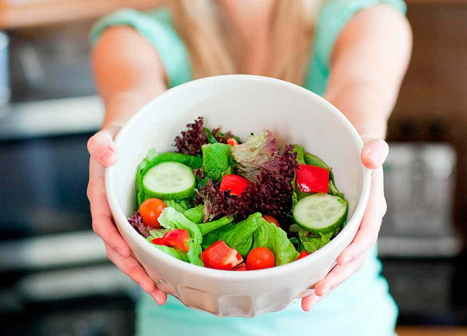 Como prepara una ensalada perfecta