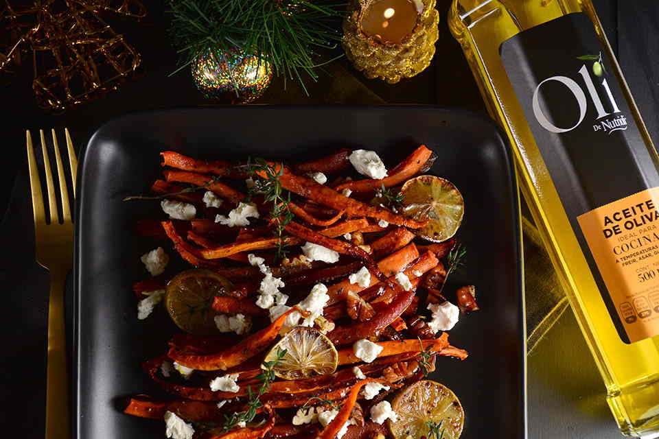 zanahorias-rostizadas-con-nueces-y-queso-de-cabra